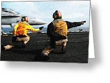 Aviation Art Catus 1 No. 18 H B Greeting Card