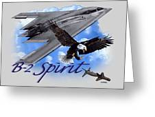 B-2 Spirit Greeting Card