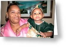 Bahama Mama In Atlantis Greeting Card