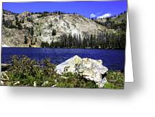 Baker Lake, Idaho Greeting Card