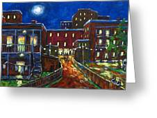 Balconville Greeting Card