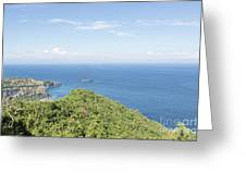 Bali North Coast Greeting Card