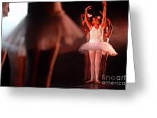 Ballet Performance  Greeting Card