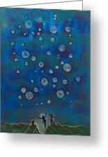 Ballooning  Greeting Card