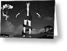 Balloons And Surrealism 2 Greeting Card