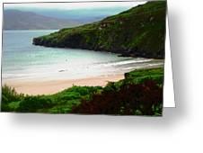 Ballymastocker Bay Greeting Card