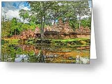 Banteay Srei Temple - Cambodia Greeting Card
