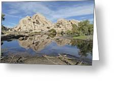 Barker Dam Greeting Card