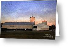 Barn At Sunrise Greeting Card