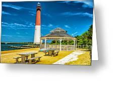 Barnegat Lighthouse Park Greeting Card