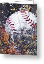 Baseball Art Version 6 Greeting Card