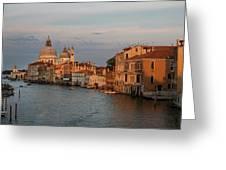 Basilica Di Santa Maria Della Salute, Venice, Italy Greeting Card