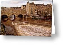 Bath England United Kingdom Uk Greeting Card