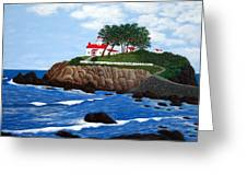 Battery Point Lighthouse Greeting Card