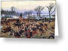 Battle Of Fredericksburg - To License For Professional Use Visit Granger.com Greeting Card
