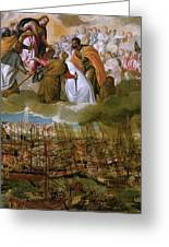 Battle Of Lepanto Greeting Card