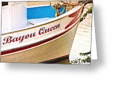 Bayou Queen Greeting Card