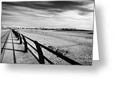 Beach At Trearddur Bay Anglesey North Wales Uk Greeting Card