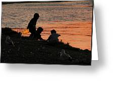 Beach Combers Greeting Card