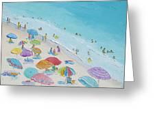 Beach Painting - Summer Love Greeting Card