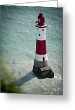 Beachy Head Lighthouse. Greeting Card