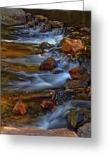 Bear Creek Waterfalls Greeting Card