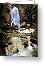 Beartooth Falls Greeting Card