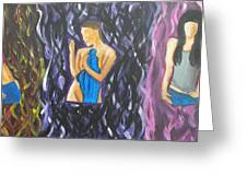 Beauty Of Women  Greeting Card by Kristen Diefenbach
