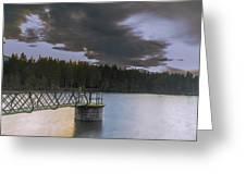 Beecraigs Loch Greeting Card