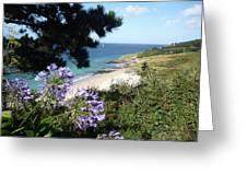 Bel-ile-en-mer Greeting Card