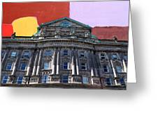 Belfast Architecture 3 Greeting Card