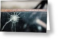 Belmont Broken Truck Window 1571 Greeting Card