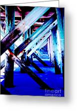 Beneath The Docks Greeting Card