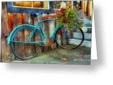 Bicycle Art 1 Greeting Card