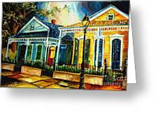 Big Easy Neighborhood Greeting Card