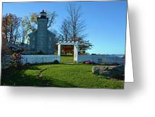 Big Sodus Lighthouse Greeting Card