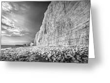 Birling Gap And Seven Sisters Greeting Card