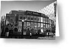 Birmingham Rep Repertory Theatre Uk Greeting Card