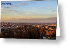 Birmingham Skyline Greeting Card