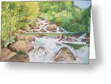 Bishop Creek South Fork Greeting Card by Charles Hetenyi