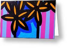 Black Eyed Flowers  Greeting Card