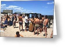 Black Sea Resort 1969 Greeting Card