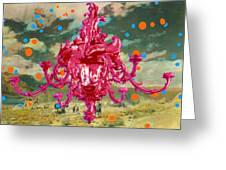 Blobs Greeting Card