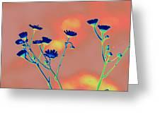 Blue Mood Greeting Card