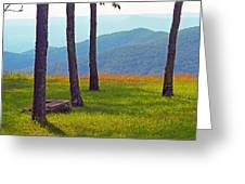 Blue Ridge Mountains - Virginia 2 Greeting Card