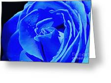 Blue Romance Greeting Card