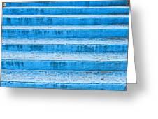 Blue Steps Greeting Card