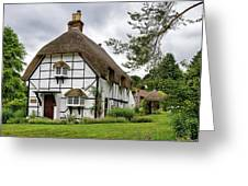 Bluebell Cottage Micheldever Greeting Card