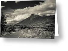 Bnw Volcan De Fuego - Sacatepequez Greeting Card