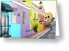 Bo Kaap 1 Greeting Card